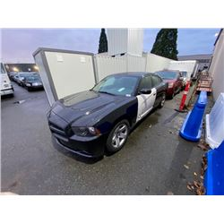 2014 DODGE CHARGER. 4DR SEDAN, BLACK, VIN # 2C3CDXAT3EH149271
