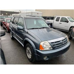 2005 SUZUKI GRAND VITARA XL-7, 4DR SEDAN, GREY, VIN # JS3TX92V854107546