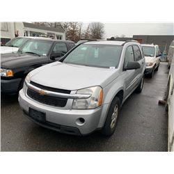 2009 CHEVROLET EQUINOX LS, GREY, 4DRSW, GAS, AUTOMATIC, VIN#2CNDL23F096211901, 350,634KMS,