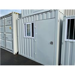 BRAND NEW 9' STORAGE CONTAINER MOBILE OFFICE