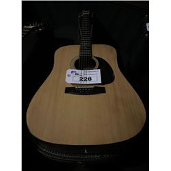 ANGELICA WG-10 ACOUSTIC GUITAR WITH HARD CASE