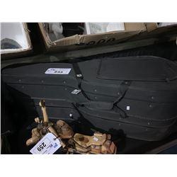 2 BLACK GUITAR TRAVEL CASES