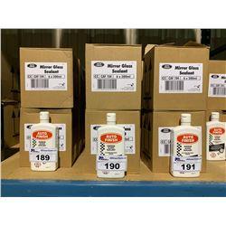 6 BOXES OF 6 X 500ML AUTO FINISH MIRROR GLOSS SEALANT