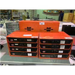 2 WURTH TOOL SHELF CONTAINER BOXES, CABINET & ASSORTED ACCESSORIES CONTAINER WITH CONTENTS