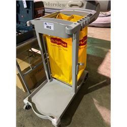 RUBBERMAID COMMERCIAL MOBILE JANITORIAL CART