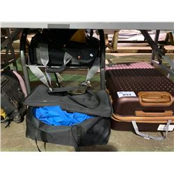 ASSORTED TRAVEL BAGS & CANOPY TENT UNIT