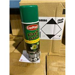 1 SKID OF APPROX 72 BOXES 6 X 500ML OF CARPLAN FLASH DASH APPLE