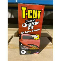 1 SKID OF APPROX 36 BOXES 6 X KITS OF T-CUT CLAY BAR KIT
