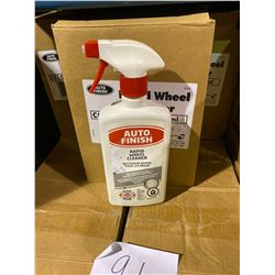 1 SKID OF APPROX 91 BOXES 6 X 500 OF AUTO FINISH RAPID WHEEL CLEANER