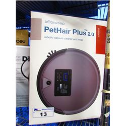 BOBSWEEP PETHAIR PLUS 2.0 ROBOTIC VACUUM CLEANER & MOP