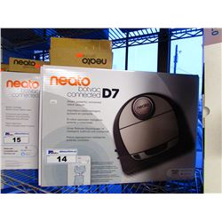 NEATO BOTVAC CONNECTED D7 ROBOTIC VAC WITH EXTRA FILTERS