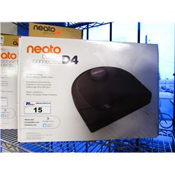 NEATO BOTVAC CONNECTED D4 ROBOTIC VAC WITH EXTRA FILTERS