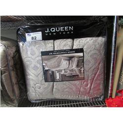 J.QUEEN NEW YORK QUEEN COMFORTER SET