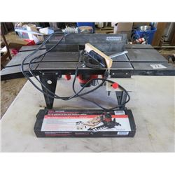 ROUTER TABLE (CRAFTSMAN) *120 V* (WITH DELUXE LETTER AND NUMBER TEMPLATE KIT)