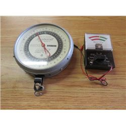 HEAVY DUTY SCALE AND BATTERY TESTER