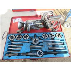 SCREW PLATES, TAP AND DIE SET