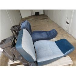 LOT OF 2 SEMI TRUCK SEATS