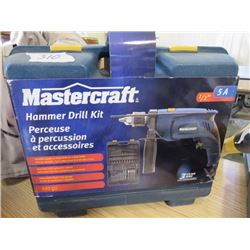 HAMMER DRILL KIT (MASTERCRAFT)