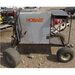 HOBART WELDING UNIT (IRON MAN 210) *ON A HOME BUILT CART*