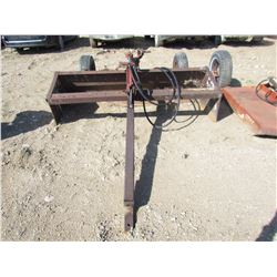 8' LAND LEVELER (HOME BUILT) *COMES WITH RAM*