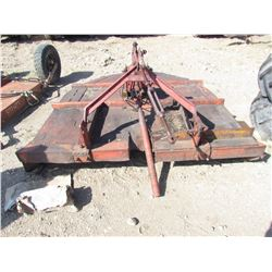 "72"" 3 PTH MOWER (PTO DRIVEN) *ROUGH CUT* (MISSING FRONT 1/2 OF PTO SHAFT)"