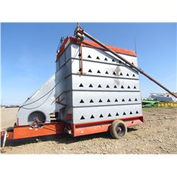 GRAIN DRYER (CONTINUOUS FLOW) *VERTEC* (PTO DRIVEN) *COMES WITH ELECTRIC SERVICE PANEL*