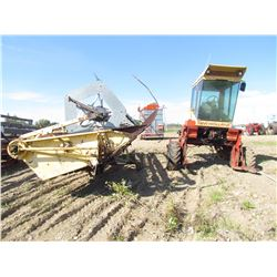 21' NH SP SWATHER (MODEL 1100) *4 CYLINDER DIESEL* (HYDROSTATIC)