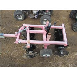 36  TANDEM DISC FOR GARDEN TRACTOR