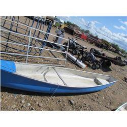 17.5' 'Alaskan' fiberglass canoe