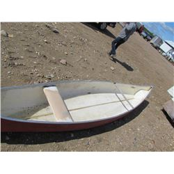 16' 'Vangaurd' fiberglass canoe