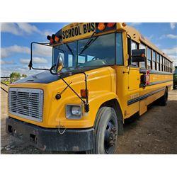 2004 65 PASSENGER FREIGHTLINER BUS- NO SEATS, NEEDS INSPECTION
