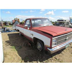 1983 Chevrolet Scottsdale 1/2 ton