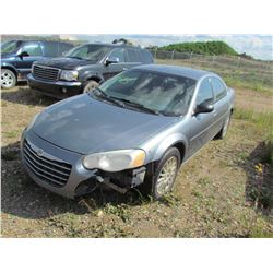 2006 Chrysler Sebring (grey) SALVAGE