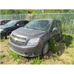 2012 Chevrolet Orlando (grey) SALVAGE