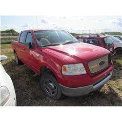 2005 Ford F150 (red)