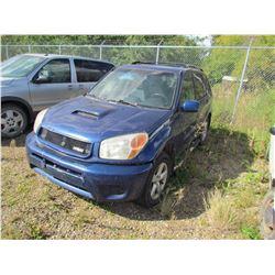 2005 Toyota RAV4 (blue)