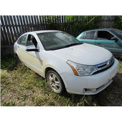2008 Ford Focus (white)