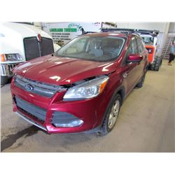 2014 Ford Escape (red)