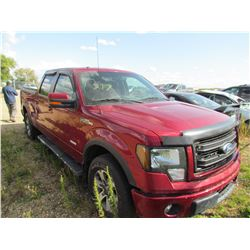 2013 Ford F150 (red)
