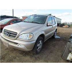2002 MERCEDES ML320 (GOLD)