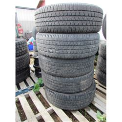 "LOT OF FIVE (5) GOODYEAR 275-60-20 ""WRANGLER"""
