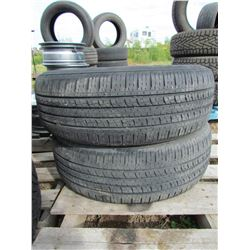 "LOT OF TWO (2) KUMHO 225-65-17 ""SOLUS KH16"""
