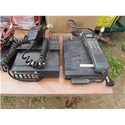 LOT OF TWO BOXES OF CB RADIOS