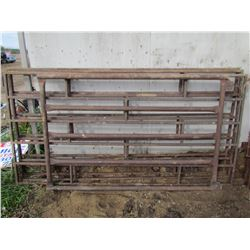 LOT OF FOUR LIVESTOCK PANELS - THREE 8'X4', ONE 4'X6'