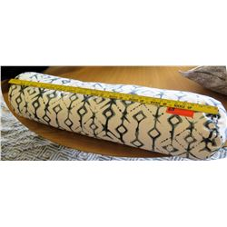 Large Bolster Pillow (Geometric Pattern)