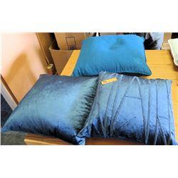 Qty 1 Ralph Lauren Pillow & Qty 2 Throw Pillows