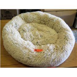 Pawsh Fluffy Dog Bed