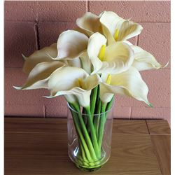 Bouquet of Faux Calla Lilies