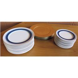 Pfaltzgraff & Charter Club Salad & Dinner Plates
