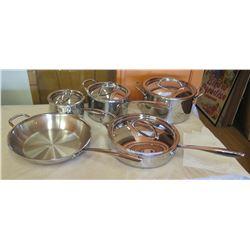 Williams Sonoma Pots, Pans, Lids, Grater